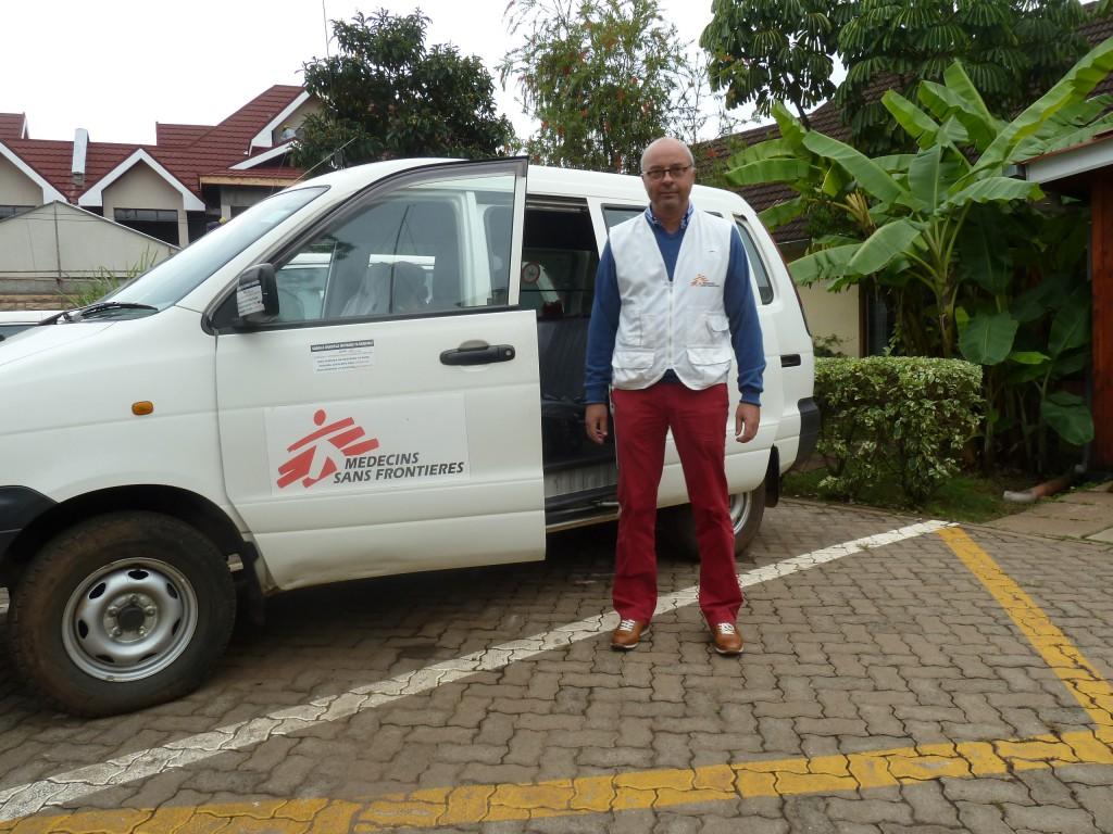Bezoek aan de projecten van AZG in Kenia