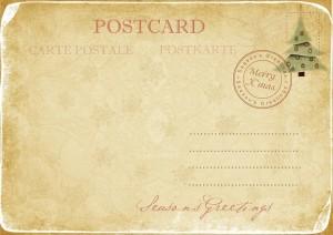Postcard klein
