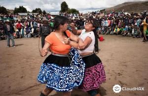 Nieuwjaarstraditie Peru