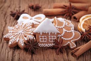 Kerstkoekjes voor de kerstboom