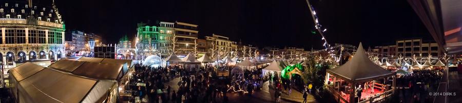 Een van de mooiste kerstmarkten is die in Leuven