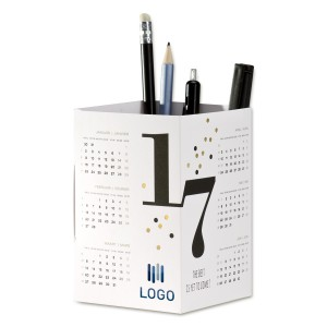 kalender pennenhouder