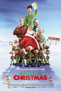 Kerstfilms Arthur Christmas