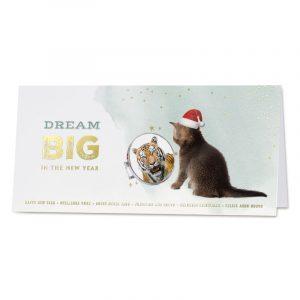 """""""Dream big"""" zakelijke kerstkaart"""